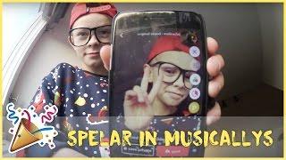VLOGG: SPELAR IN MUSICALLYS PÅ JULAFTON pt.1