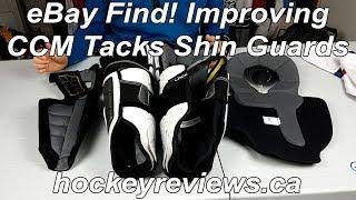 eBay Finds! Improving CCM Tacks Shin Guard Comfort & Protection