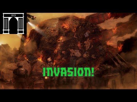 40k Lore, The War For Armageddon, 2nd Ork Invasion, The Landing