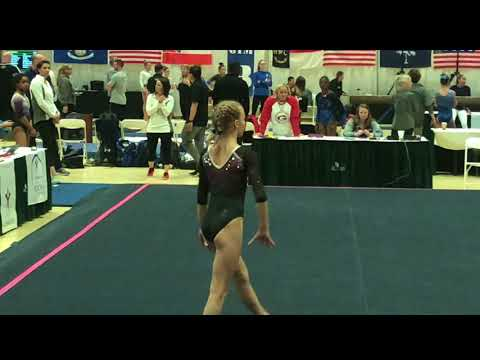 Bailey Tart Level 8 Bull City Gymnastics 2018