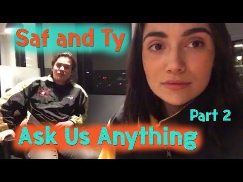 SUNDAY BEACH TRIP and Q&A! (Part 2) | Safiya & Tyler vlog