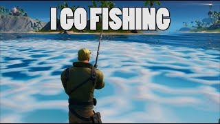 Fornite Season 11 - these bots are no match for me! (Epic fishing gameplay)