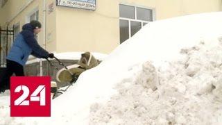 Уфу замело снегом
