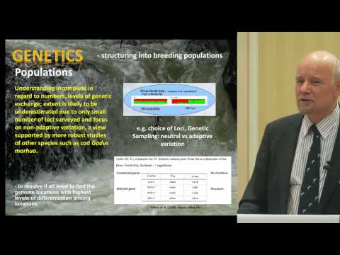 "Eric Verspoor (University of the Highlands and Islands): ""The importance of genetics"""