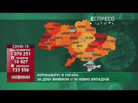 Коронавирус в Украине: статистика за 4 января