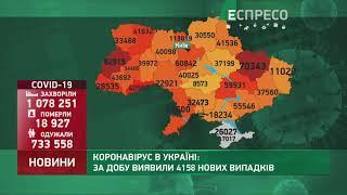 Коронавірус в Украі ні статистика за 4 січня