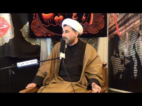 sheikh leqai 9 muharram 2013, Imam Ali Mosque, Copenhagen, Denmark سخنرانی به زبان فارسی
