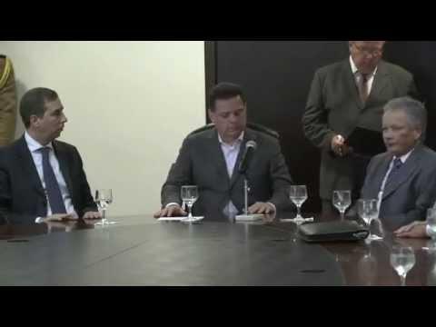 Marconi Perillo assina protocolo de intenções com Orinoco Mineração