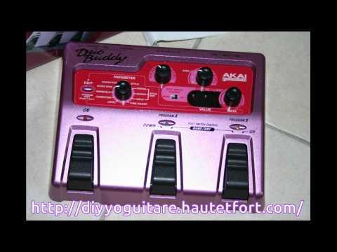 Akai HV1 Hamonizer  Duo Buddy avec guitare