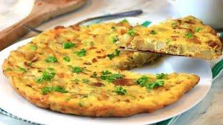 Potato Omelette - The Ultimate Breakfast