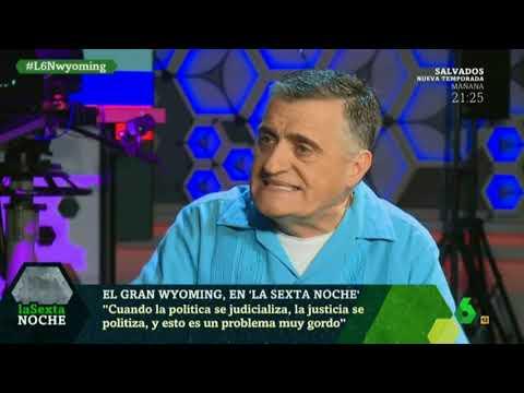 """Gran Wyoming """"En España tenemos presos políticos"""""""