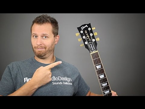 Guitar Headstock Rant - Why Les Pauls Don't Stay in Tune!