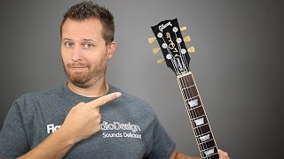 Guitar Headstock Rant - Why Les Pauls Don