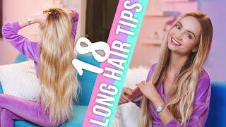 My 18 Long Hair Tips | How to Grow Long Hair