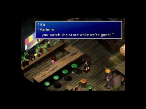 Lets Play Final Fantasy Vii Part 2 storming the Sector 5 Reactor
