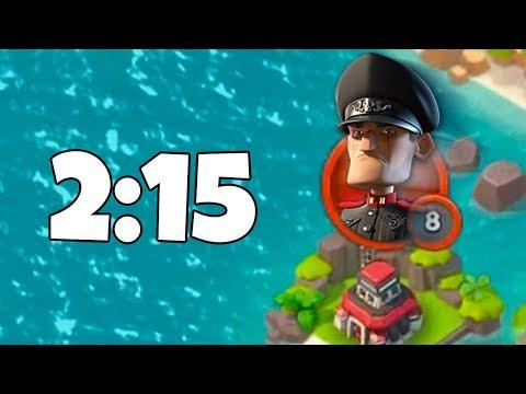 Boom Beach BEATING Imitation Game in 2:15!