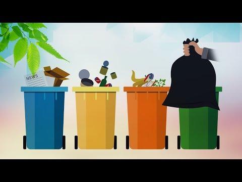 Dialogue: Garbage sorting regulations in Shanghai