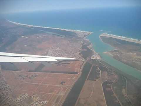 Morocco, Rabat - Landing.