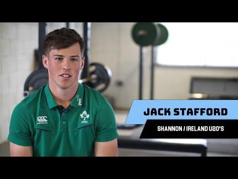 Jack Stafford – Shannon and Ireland U20's Scrum-Half