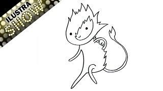 Hora de Aventura Como dibujar a FLAMBO ILUSTRA SHOW