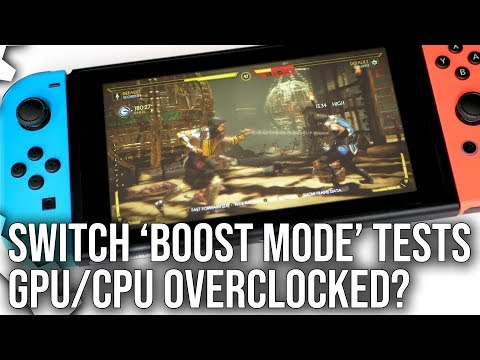 Switch 'Boost Mode' Analysis: Is Nintendo Overclocking Switch Hardware?