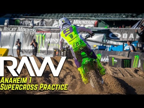 Anaheim 1 Supercross Practice RAW - Motocross Action Magazine