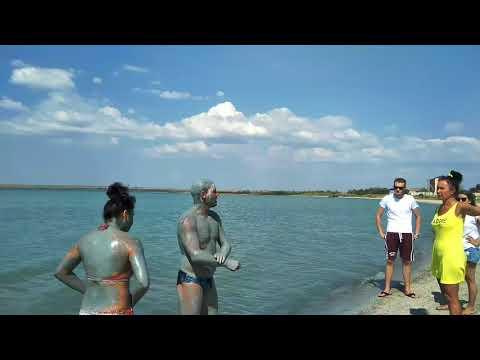 Штормовое. Солёное озеро, грязевые ванны и дикий пляж