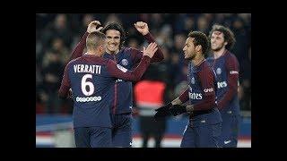 PSG vs Nantes 4-1 & All Goals & Extended Highlights - 18/11/2017 HD