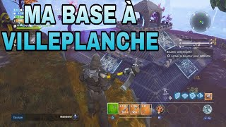 HOW TO BUILD A BASE TO VILLEPLANCHE - SAUVER THE WORLD FORTNITE