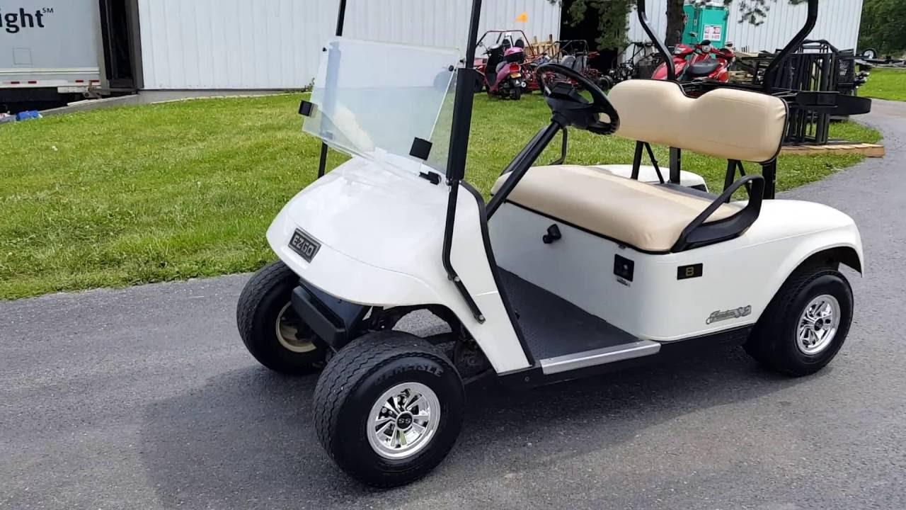 ez go 2006 suzuki eiger 400 wiring diagram gas txt golf cart for sale from saferwholesale com youtube