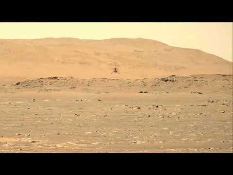 Perseverance's Mastcam-Z Video of Second Flight