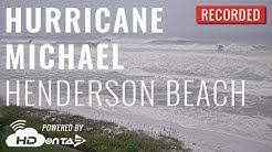 Hurricane Michael - Henderson Beach, FL Live Camera