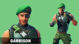 NEW FREE GARRISON SKIN IN FORTNITE! NEW FREE FORTNITE SKINS!