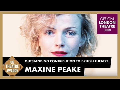 UK Theatre Awards - Maxine Peake - Outstanding Contribution to British Theatre