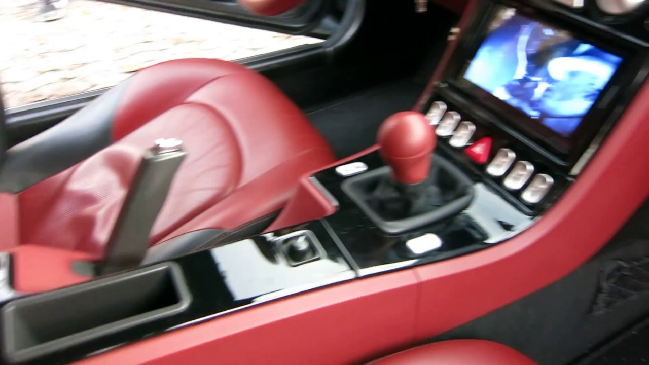 chrysler crossfire custom interior. chrysler crossfire with custom double din android stereo radio dvd receiver interior