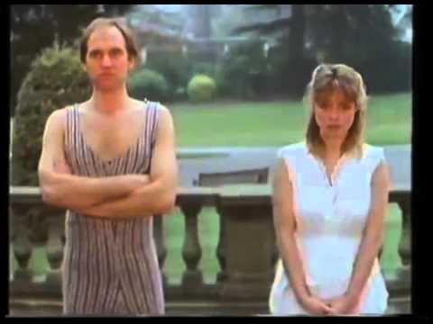 Blue Peter - Janet Ellis gets muddy then soaked.1987