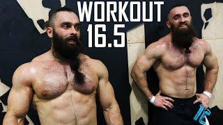 Братья бородачи в финальном рейсе - Crossfit Open Workout 16.5