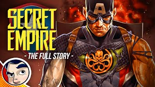 "Secret Empire ""Hail Hydra Captain America"" - Full Story 