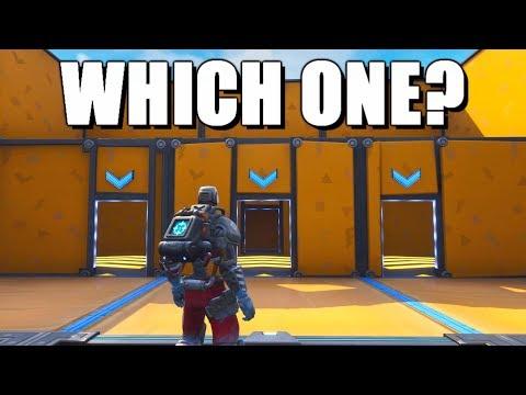 The Door Maze Challenge in Fortnite Creative!