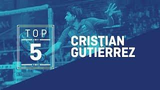 TOP 5 puntazos 2018 Cristian Gutiérrez | World Padel Tour