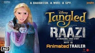 ' Raazi' ANIMATED  CARTOON Trailer   Alia Bhatt, Vicky Kaushal  JCB VINES   11th May 2018