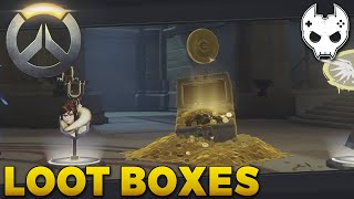 Overwatch Loot Box Opening - LEGENDARY CREDITS - E4 Closed Beta