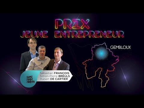 Alfers 2016 - Prix Jeune entrepreneur : UNIVERSEM