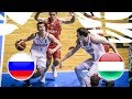 Russia v Hungary - Full Game - FIBA U20 European Championship Division B 2018