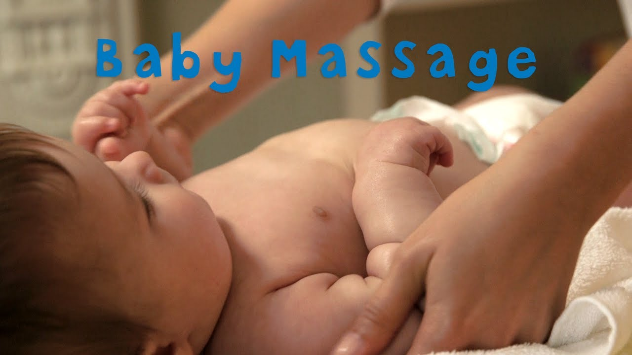 How to massage the newborn