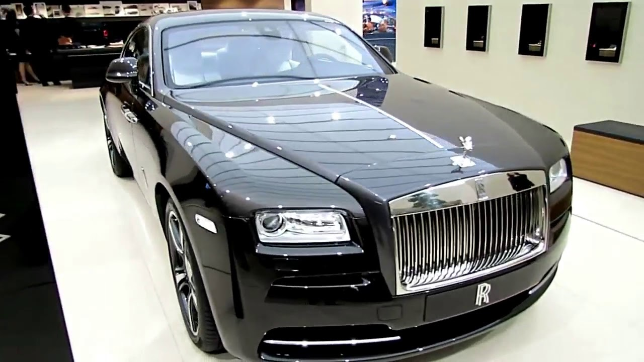 Download 2017 Rolls Royce Wraith Black Mate Design Special Limited First Impression Lookaround