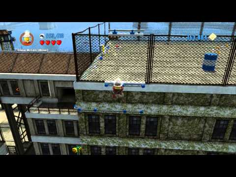 LEGO City Undercover 100% Guide - Albatross Island - All Collectibles