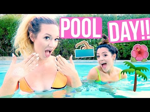 SWIMMING IN PALM SPRINGS!!