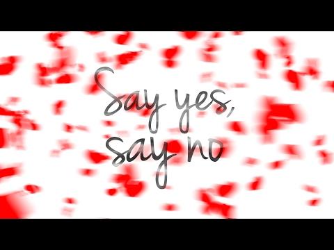 Horia Brenciu - Say yes, Say no [OFFICIAL LYRIC VIDEO]