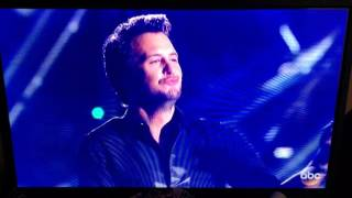 Luke Bryan 50th CMA Awards Performance